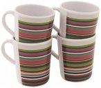Outwell - Blossom Mug Set - Tasse Gr 9,5 x 7,5 cm grau/braun