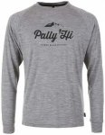 Pally'Hi - Longsleeve Classic Peak Logo - Longsleeve Gr L;M;S;XL;XXL schwarz;gra