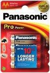 Panasonic - Alkaline Batterien 'Pro Power' Mignonzelle Gr 4 Stück