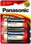 Panasonic - Alkaline Batterien 'Pro Power' Monozelle Gr 2 Stück