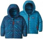 Patagonia - Baby Reversible Down Sweater Hoody - Daunenjacke Gr 2T blau
