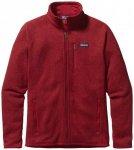Patagonia - Better Sweater Jacket - Fleecejacke Gr S rot