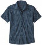 Patagonia - Go To Shirt - Hemd Gr M blau/schwarz