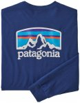 Patagonia - L/S Fitz Roy Horizons Responsibili-Tee - Longsleeve Gr L;S;XL;XXL bl