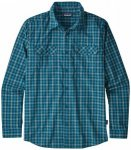 Patagonia - L/S High Moss Shirt - Hemd Gr L;M;S;XL;XXL blau/grau/schwarz;grau/be