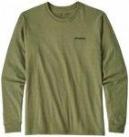 Patagonia - L/S P-6 Logo Responsibili-Tee - Longsleeve Gr L;M;S;XL;XS;XXL rot/li