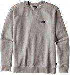 Patagonia - P-6 Label Midweight Crew Sweatshirt - Pullover Gr XL grau