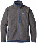 Patagonia - Performance Better Sweater Jacket - Fleecejacke Gr S grau/schwarz