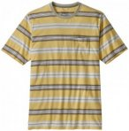 Patagonia - Squeaky Clean Pocket Tee - T-Shirt Gr S beige/grau