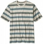 Patagonia - Squeaky Clean Pocket Tee - T-Shirt Gr L grau/weiß