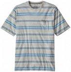 Patagonia - Squeaky Clean Pocket Tee - T-Shirt Gr L grau