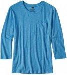 Patagonia - Women's Mainstay 3/4 Sleeved Top - Longsleeve Gr L;M;S;XS grau/weiß