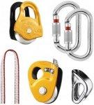 Petzl - Crevasse Rescue Kit - Spaltenbergungs-Set gelb/schwarz