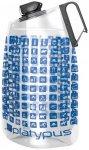 Platypus - DuoLock Bottle - Trinkflasche Gr 2 l grau/blau