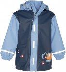 Playshoes - Kid's Regen-Mantel - Regenjacke Gr 104;128;80;92;98 blau/grau;rosa/g