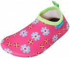 Playshoes - Kid's UV-Schutz Barfuß-Schuh Blumen - Wassersportschuhe 26/27 rosa