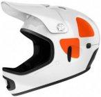 POC - Cortex DH Mips - Radhelm Gr M/L grau/weiß/schwarz