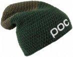 POC - Crochet Beanie - Mütze Gr One Size schwarz/oliv