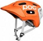 POC - Trabec Race - Radhelm Gr XS/S orange/grau