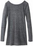 Prana - Women's Esme Top - Longsleeve Gr XS grau/schwarz