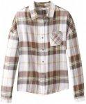 Prana - Women's Percy Top - Bluse Gr S grau/weiß
