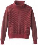 Prana - Women's Sentiment Sweater - Pullover Gr L;S;XS grau/schwarz;rot