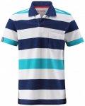 Reima - Kid's Kanootti - Polo-Shirt Gr 146 grau/blau