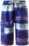 Reima - Kid's Sea - Boardshort Gr 110 blau/lila/grau