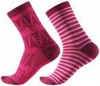 Reima - Kid's Sturm Socks - Multifunktionssocken Gr 22-25 grau/schwarz;blau/schw