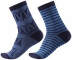Reima - Kid's Sturm Socks - Multifunktionssocken Gr 22-25 blau/schwarz