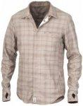 Röjk - Wanderer Shirt - Hemd Gr XXL grau/beige