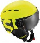 Rossignol - Visor Junior - Skihelm Gr XS gelb/schwarz