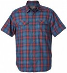 Royal Robbins - Merinolux Plaid S/S - Hemd Gr S blau/lila