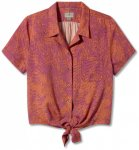 Royal Robbins - Women's Bergen S/S - Bluse Gr S rosa/rot