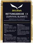 Salewa - Rescue Blanket - Erste Hilfe Set Gr 210 x 160 cm gold /grau