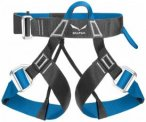 Salewa - Via Ferrata Evo Harness - Klettergurt Gr M/XXL carbon /blau