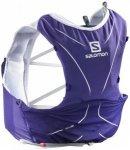 Salomon - Advanced Skin 5 Set - Trailrunningrucksack Gr XL lila/grau