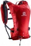 Salomon - Agile 6 Set - Trailrunningrucksack Gr One Size rot