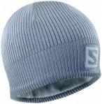 Salomon - Logo Beanie - Mütze Gr One Size grau/blau