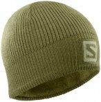 Salomon - Logo Beanie - Mütze Gr One Size oliv