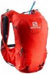 Salomon - Skin Pro 15 Set - Trailrunningrucksack Gr One Size rot