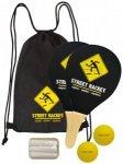 Schildkröt - Street Racket Set schwarz/ gelb