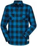 Schöffel - Shirt Feldkirch - Hemd Gr 3XL blau/schwarz