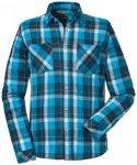 Schöffel - Shirt Kreta1 - Hemd Gr L;S;XL;XXL lila/blau/rot
