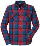 Schöffel - Shirt Kreta1 - Hemd Gr 3XL lila/blau/rot