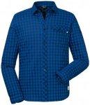 Schöffel - Shirt Miesbach 2 - Hemd Gr 56 blau