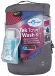 Sea to Summit - Tek Towel Wash Kit Gr M berry