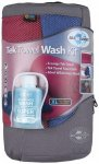 Sea to Summit - Tek Towel Wash Kit Gr XL berry