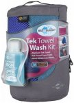 Sea to Summit - Tek Towel Wash Kit Gr L;M;XL blau