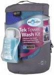 Sea to Summit - Tek Towel Wash Kit Gr L;M blau